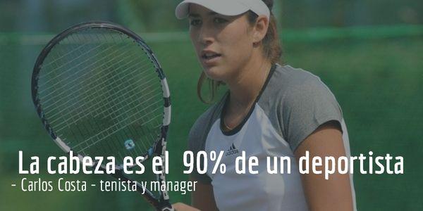 Tenis fortaleza | La cabeza es el 90% de un deportista