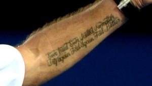 Tatuaje wawrinka