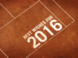 Tennis best wishes 2016