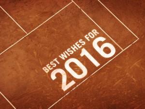Tennis best wishes 2016