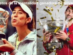 Psicología del deporte |Los 6 secretos de la mentalidad ganadora de Novak Djokovic y Garbiñe Muguruza