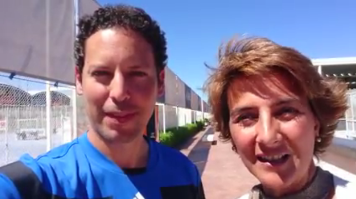 Videos de entrenamiento de tenis | Conferencia Federación Tenis Madrid