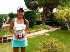 Psicologia del deporte | Triunfo de Takhmina Burkhanova en Catarroja