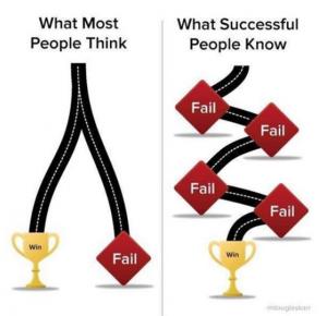 Ganar fallando