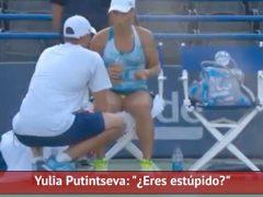 """""""¿Eres estúpido?"""": el diálogo entre tenista y su entrenador que indigna al mundo del tenis y la necesidad de un cambio."""