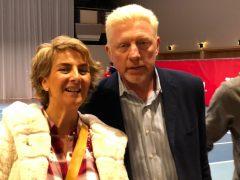 Boris Becker | Con el Kaiser del tenis en Berlín